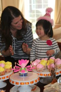 Jia's second birthday... this is one of my favorite pictures of her and Jenn.