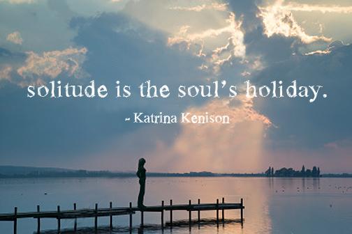 solitude print