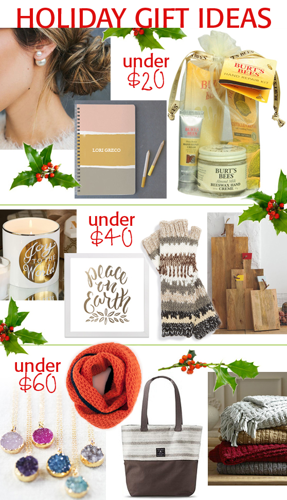 Christmas gifts w type