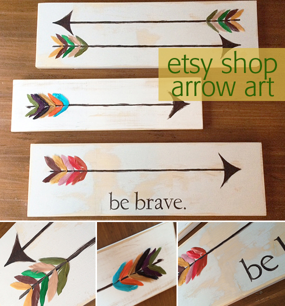 arrow collage
