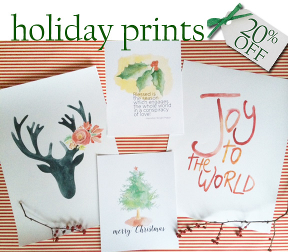 holiday prints all
