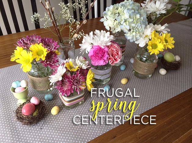 spring centerpiece 3