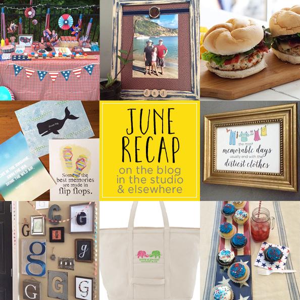 June recap graphic