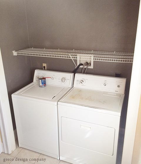 laundry room_painted