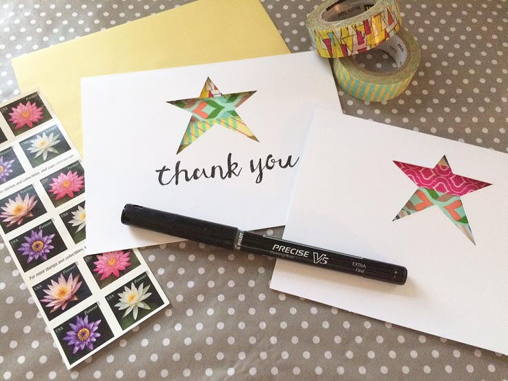 greco design_star card with message