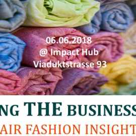 AdvantiKA Workshop: Making the business case –  Fair fashion insights, 6 June