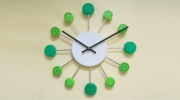Bottle cap timepiece