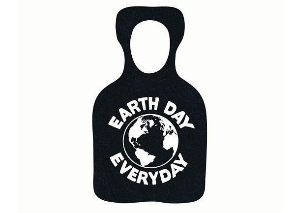 Recycled rubber eco products