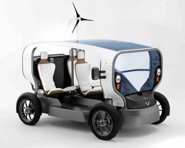 Self powered car