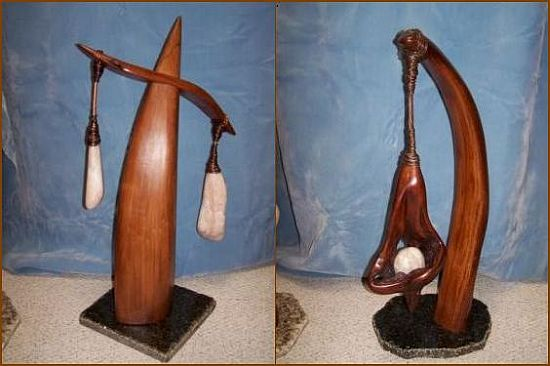 shaw lakey reclaimed driftwood sculpture 3