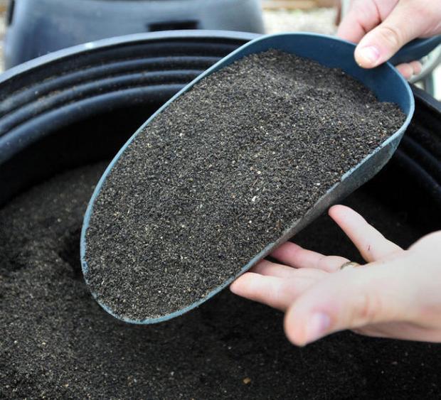 Unique compost machine by SVSU students design
