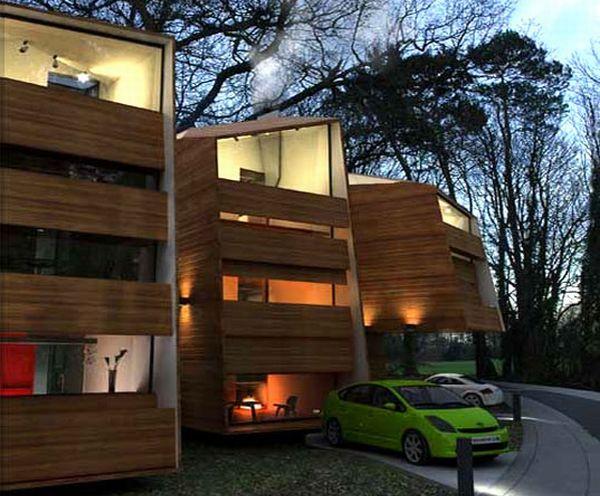 YOUMEHESHE'S ORGANIC PREFAB HOUSE