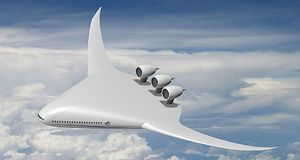 BWB Blended Wing Body Aircraft