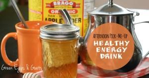 Healthy Energy Drink Recipe
