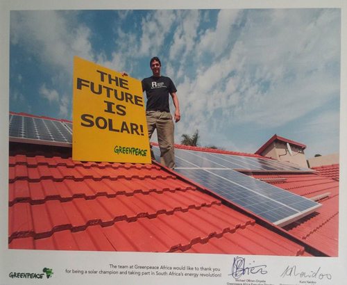 the future is solar