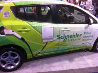 Schneider Electric Car Charging