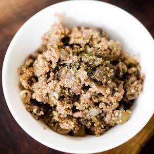 Vegan Mushroom and Red Wine Quinoa Risotto Recipe