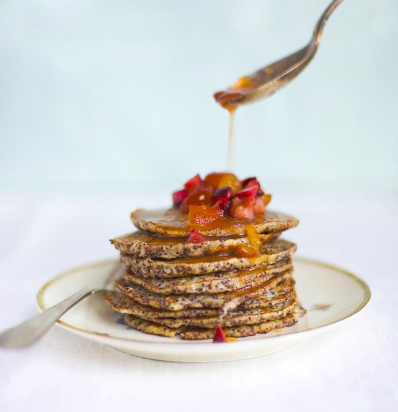Kañiwa pancakes