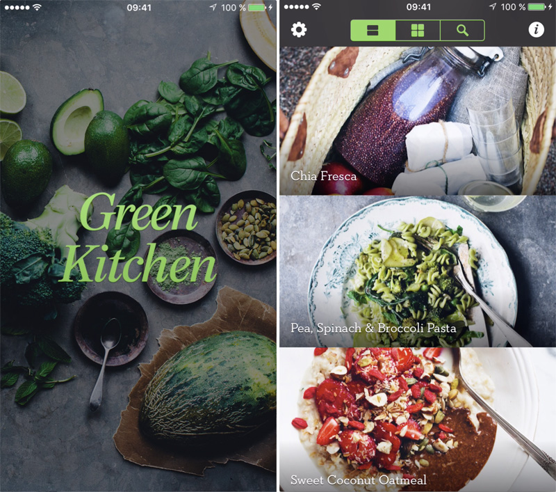 Attractive We Have Released An Update For Our Green Kitchen App Which Includes A  Search Bar (finally, Right!?) Where You Can Search On Recipe Names And  Ingredients.