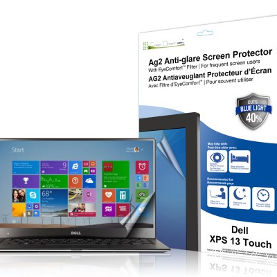 AG2 Anti-Glare Screen Protector with EyeComfort Filter for Dell XPS 13 Touch package picture