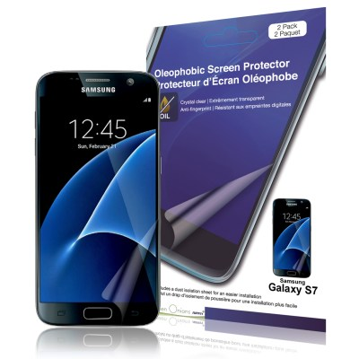 Crystal Oleophobic Screen Protector for Samsung Galaxy S7