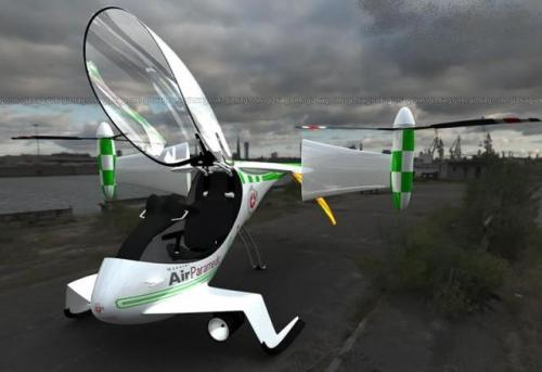 falx hybrid aircraft 2 Hybrid Electric Aircraft to Take Off by 2009