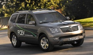 Borrego FCEV 300x177 Impressive Fuel Cell Stack on Kia Borrego FCEV Uses 98% of the Hydrogen