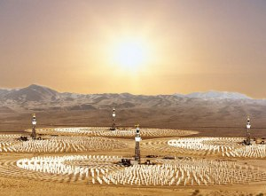 solar power molten salt 300x221 Archimede: World's First Concentrated Solar Power Plant That Uses Molten Salts as Energy Storage