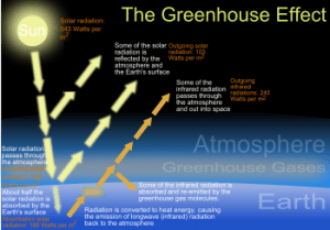 greenhouse effect 300x209 Greenhouse Gases Rising Steadily, World Meteorological Organization Reports