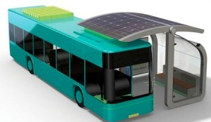 solar charger buses 300x174 ATC Solar Curve   A Wireless Solar Charger for Electric Buses