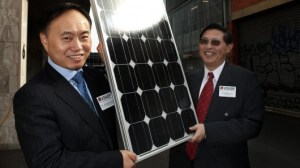 suntech thin film 300x168 Australian Scientists Enhancing Thin Film Solar Cells Efficiency