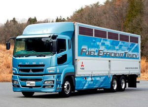 New Fuel Saving 300x217 New Fuel Efficient Truck Developed by Japanese Company