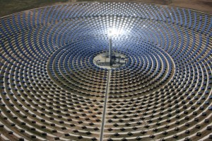 Gemasolar 300x199 Concentrated Solar Power for High Temperature Chemical Reactions