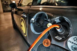 electric car charging 300x199 Auto Insurance – Another Barrier to Electric Vehicle Ownership?