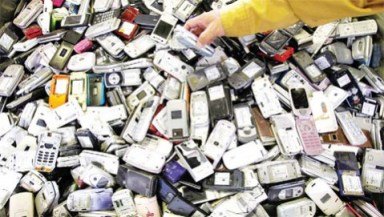 mobile phone recycling Recycling Mobile Phones Could End Chemical Leakage