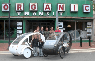 organic elf ELF: A Pedal Solar Hybrid Trike to Start Shipping in March