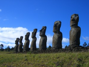Easter Island 300x225 Wind Farms Equivalent to Statues on Easter Island, According to Founding Father of the Green Movement