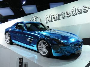 SLS AMG Electric Drive 300x225 Mercedes Benz SLS AMG Electric Drive is For the Few