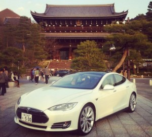 tesla model s in japan 300x271 Tesla Motors Could Increase Production to 500 Model S Per Week: UPDATE