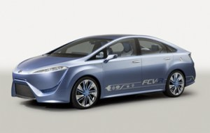 Toyota FCV R Concept 300x191 Toyota FCV R Hydrogen Fuel Cell Concept Set for Production in 2015