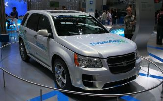 General Motors Hydrogen Fuel Cell Vehicle Prototype