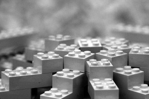 LEGO inspires solar cell design 300x199 Nanoscale LEGO Setup of Aluminum Studs Improves Solar Cell Efficiency