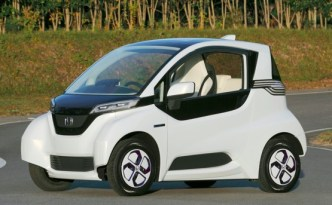 Honda MC-β, Mini Electric Vehicle for the Future Smart-Home