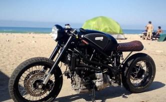 Bacon Bike runs on B100 (100% biodiesel)