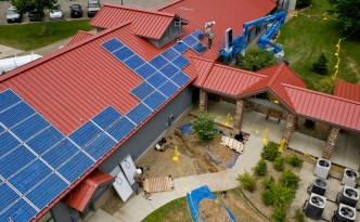 Green Jobs Growing in Ohio – Solar power installation at Ohio's Wayne National Forest