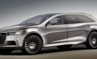 Audi Q8 concept - photo from Electric Vehicle News