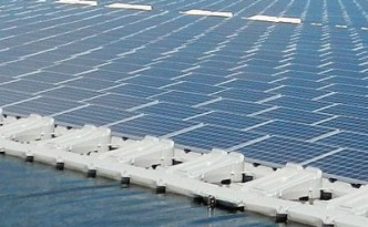 Floating solar installation © KYOCERA Corporation