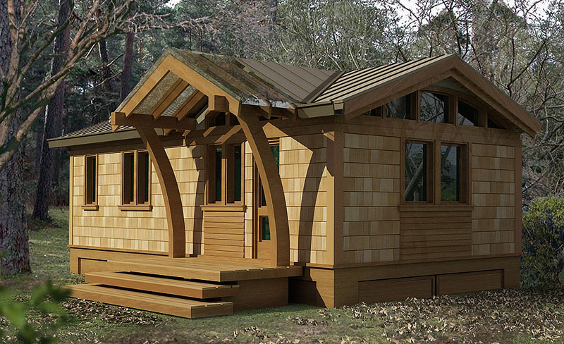 Lummi small house plans greenpod products for Green small house plans