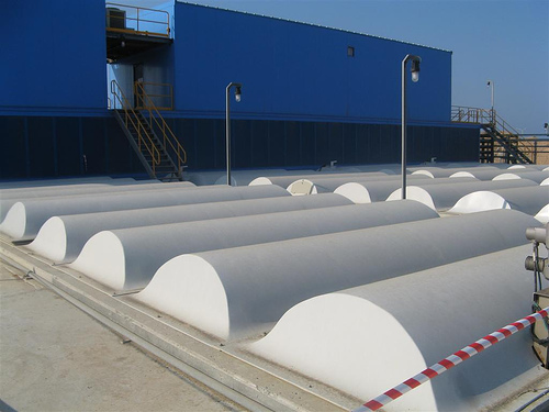 Desalination plant in israel image