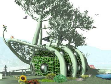 """Plantware's Eco-Architecture To """"Grow Your Own"""" Homes"""